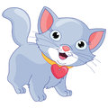 Vector Illustration Of A Cat Royalty Free Stock Photo