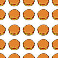 vector illustration of delicious burger