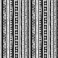 Funny scary black white seamless background abstract pattern for halloween Royalty Free Stock Photo