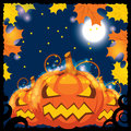 Vector illustration of halloween banners Royalty Free Stock Photography