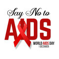 Vector illustration of hiv,aids awareness.