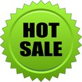 Hot sale seal stamp green Royalty Free Stock Photo
