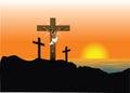 Jesus Easter Resurrection Royalty Free Stock Photo