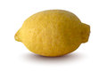 Vector illustration of lemon realistic Stock Photo