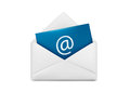 Vector illustration of mail icon Royalty Free Stock Image