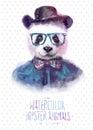 Vector Illustration Of Panda P...