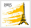 Vector illustration of Paris teme Royalty Free Stock Photography