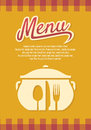 Vector illustration restaurant menu Stock Photos