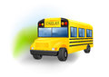 Vector illustration school bus Royalty Free Stock Photography