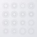 Vector illustration. Set bursting rays Royalty Free Stock Photo