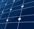 Vector illustration of the solar panel background Stock Image