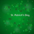 Vector Illustration of a St. Patrick`s Day Background