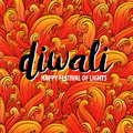 Vector illustration on the theme of the traditional celebration happy diwali. Deepavali light and fire festival.