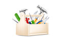 Vector illustration of toolbox icon Royalty Free Stock Photography