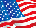 Vector illustration United States flag Royalty Free Stock Image
