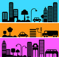 Vector Illustration Of Urban S...