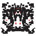 Vector Illustration Virus Corona Abstract Video Games