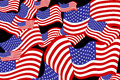 Vector image of the american flag as a background Stock Images