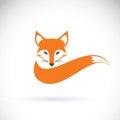 Vector Image Of A Fox Design O...