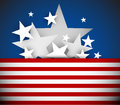 Vector independence day background Royalty Free Stock Image