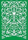 Islamic floral pattern motif