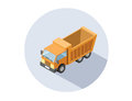 Vector isometric illustration of Truck.