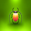 Vector Jewel Bug Stock Photography