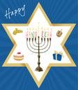 Vector - Jewish Holiday of Hanukkah
