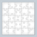 Vector jigsaw puzzle Royalty Free Stock Photo