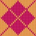 Vector Knitting Seamless Backg...