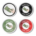Vector labels - money back Stock Photos