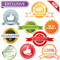 Vector labels set Stock Images