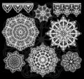 Vector lace Stock Images
