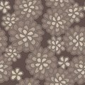 Vector lace floral pattern Stock Image