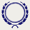 Vector laurel wreath Royalty Free Stock Photo