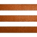 Vector Leather brown color Design template Royalty Free Stock Image