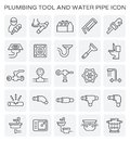 Plumbing tool icon Royalty Free Stock Photo