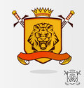 Vector Lion Royalty Free Stock Photo
