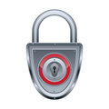 Vector lock Royalty Free Stock Images