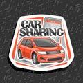 Vector logo for Car Sharing
