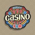 Vector logo for Casino