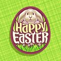 Vector logo for Easter holiday
