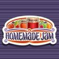 Vector logo for Homemade Jam