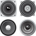 Vector loudspeaker Stock Images