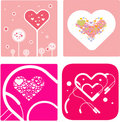 VECTOR love design Stock Photography