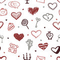 Vector Love Seamless Pattern