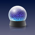 Vector magic ball illustration of Stock Image