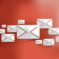 Vector mail web icon Royalty Free Stock Photo