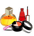 Vector makeup collection Stock Photos