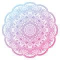 Vector Mandala Royalty Free Stock Photo